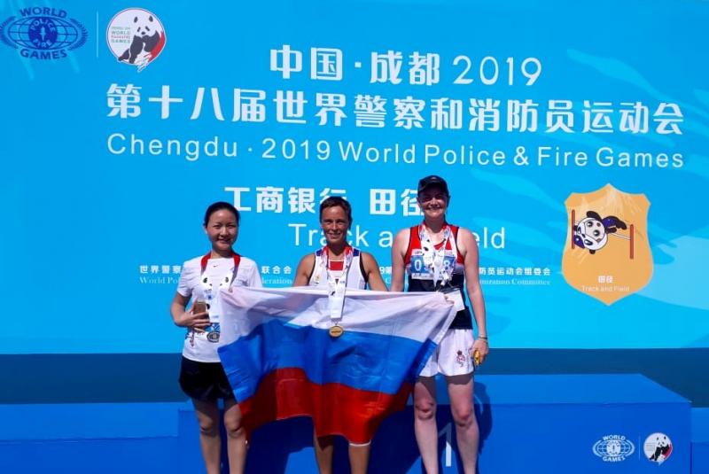 Астраханские полицейские собирают золотые медали на специальной олимпиаде в Китае
