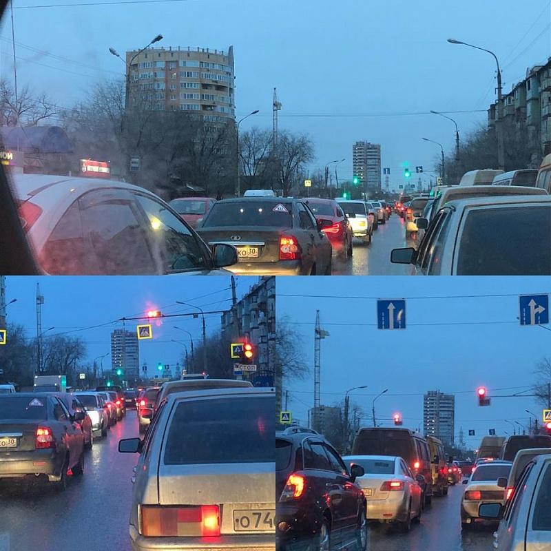 Астраханские водители снова недовольны: на этот раз светофорами