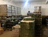 В Астраханской области изъяли баснословное количество пива: видео